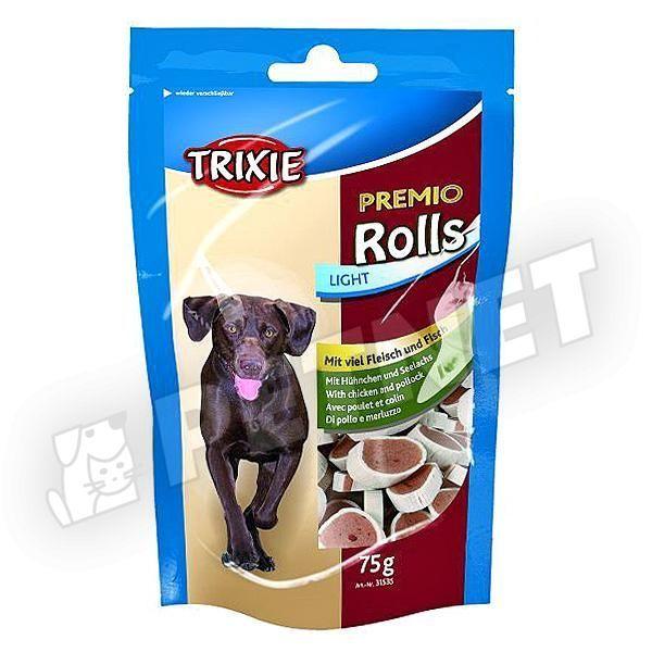 Trixie Premio Rolls csirkés lazacos falatkák 75g