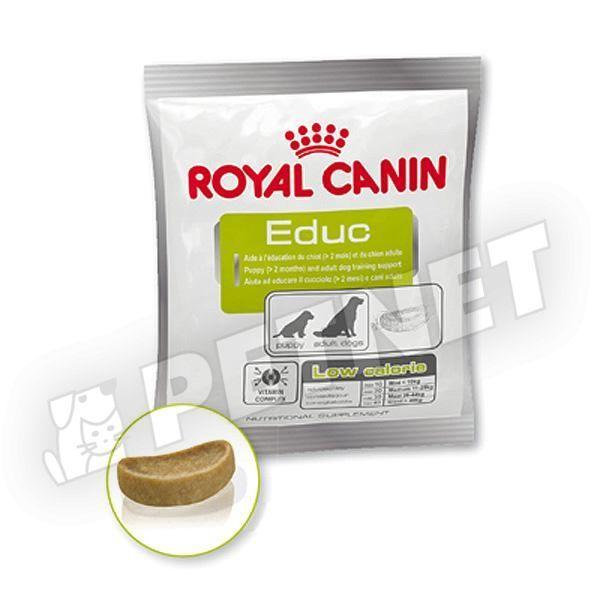 Royal Canin EDUC Low Calorie jutalomfalat 50g