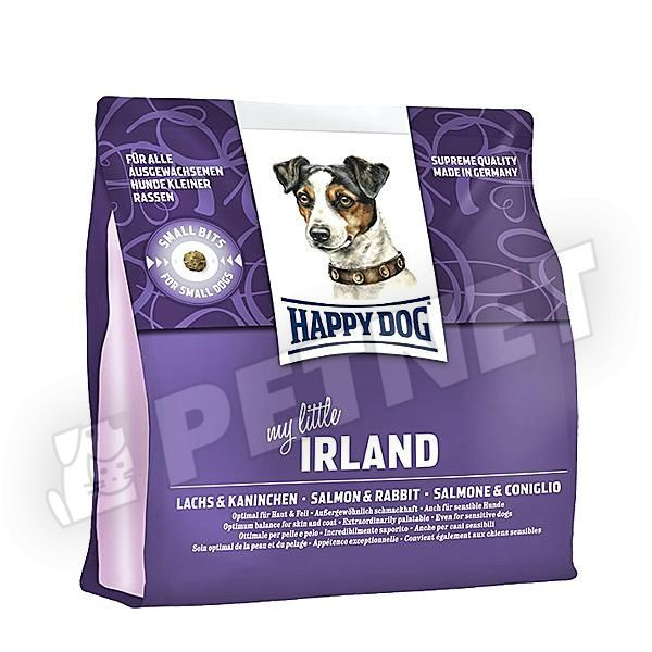 happy dog supreme mini irland ny llal s lazaccal 1kg kutyat p kistest feln tt kuty knak. Black Bedroom Furniture Sets. Home Design Ideas