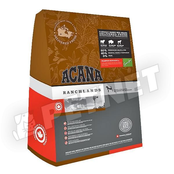 Acana Ranchlands Dog Vöröshúsos 2kg