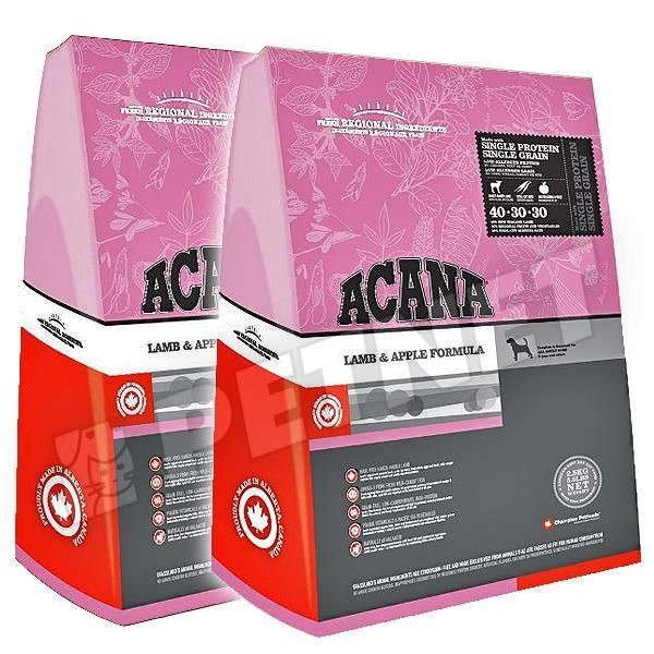 Acana Grass Fed Lamb 2x17kg