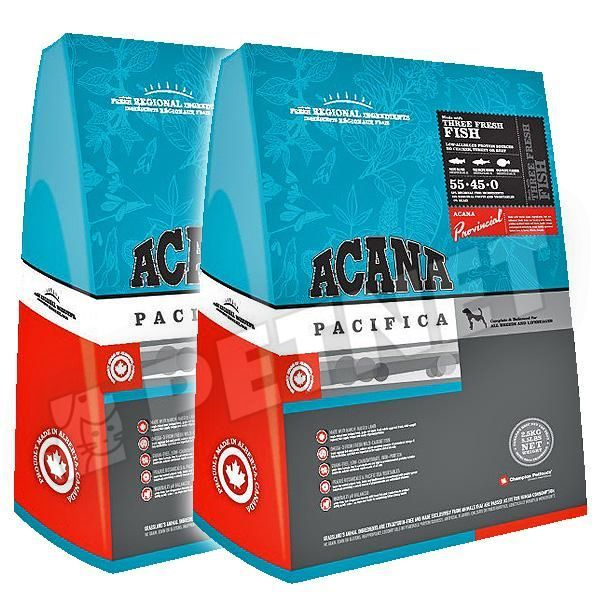 Acana Pacifica Dog Salmon Lazacos 2x11,4kg