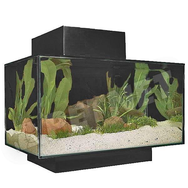 Fluval Edge Nano LED akvárium Fekete 23l