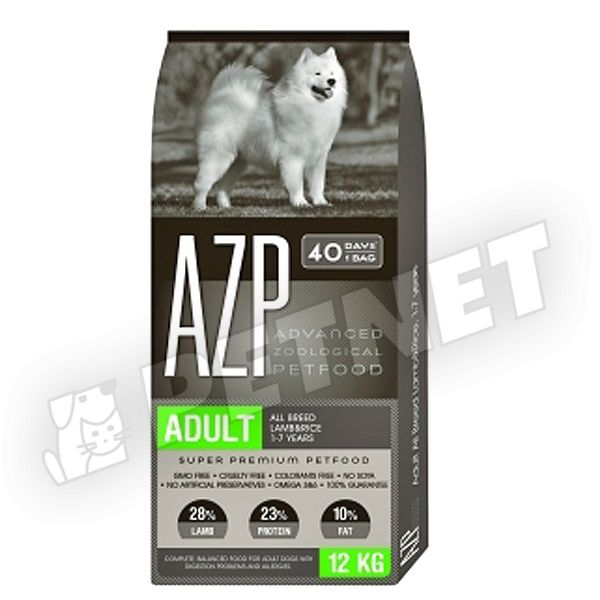 AZP Adult All Breed Lamb Rice 12kg