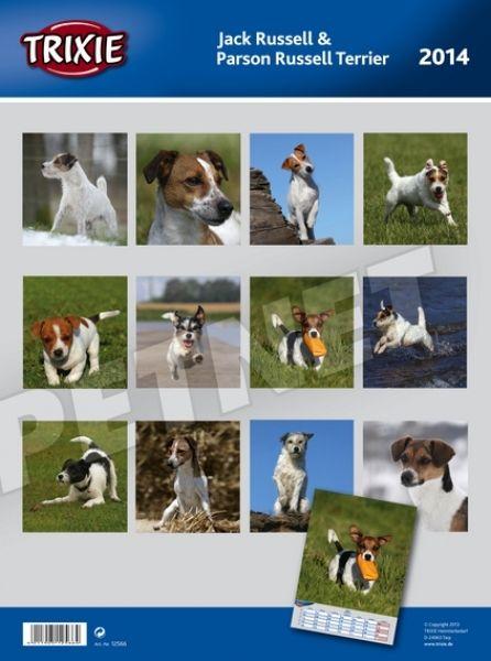 Trixie Jack Russell Terrier kutyás falinaptár 2014