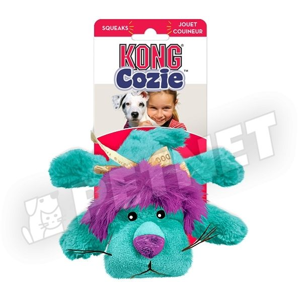KONG Cozie King the Purple Haired Lion 20cm
