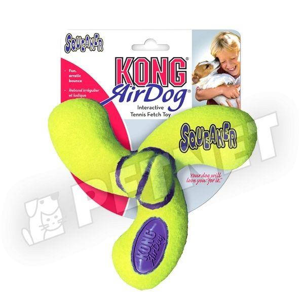 KONG AirDog Squeaker Spinner Medium kutyajáték