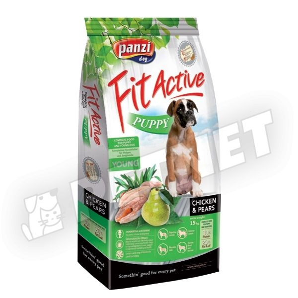 FitActive Puppy Chicken & Pears 15kg