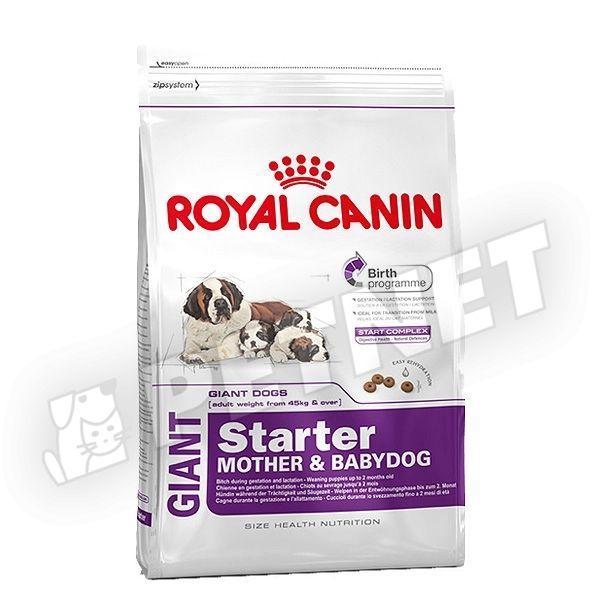 royal canin giant starter mother babydog 15kg elv laszt eledel k ly kkuty knak 30 kedvezm ny. Black Bedroom Furniture Sets. Home Design Ideas