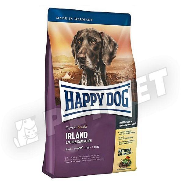 Happy Dog Supreme Sensible Ireland Nyúlhússal 12,5kg
