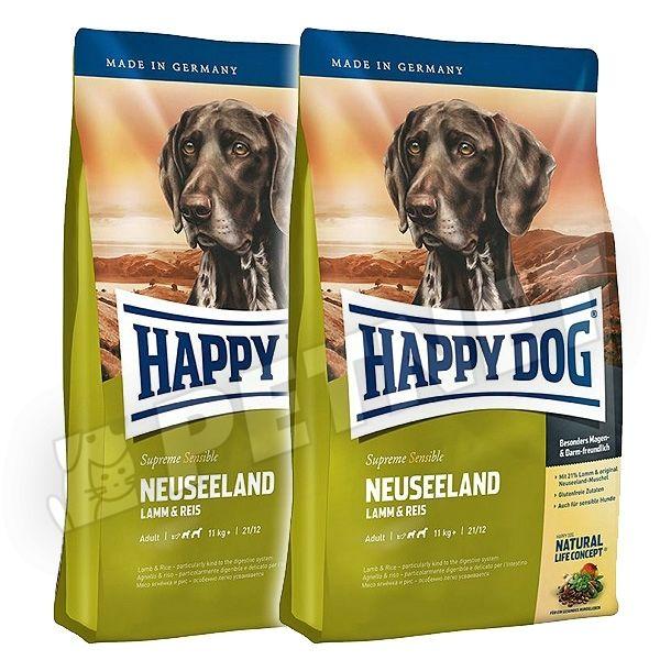 happy dog supreme sensible neuseeland b r ny 2x12 5kg kutyat p rz keny kuty knak 20 kedvezm ny. Black Bedroom Furniture Sets. Home Design Ideas
