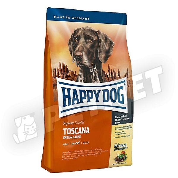 happy dog supreme sensible toscana kacs val 4kg kutyat p rz keny kuty knak 10 kedvezm ny. Black Bedroom Furniture Sets. Home Design Ideas