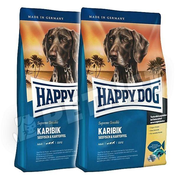 happy dog supreme sensible karibik tengerihallal 300g kutyat p rz keny kuty knak rdekl dj n. Black Bedroom Furniture Sets. Home Design Ideas