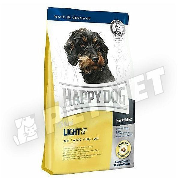 Happy Dog Fit & Well Mini Adult Light Low Fat 4kg