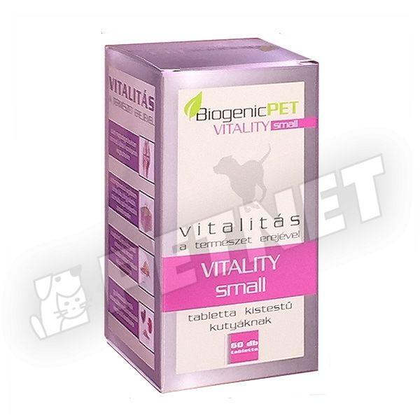 BiogenicPet Vitality Small Dog 60db