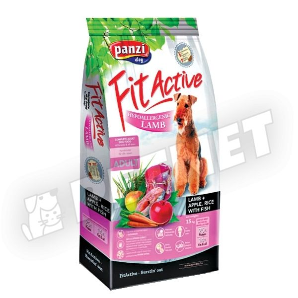 FitActive Hypoallergen Lamb Apple Rice 15kg