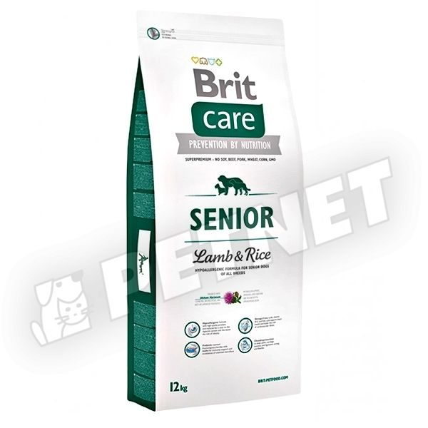 Brit Care Hypoallergen Senior Lamb & Rice 12kg