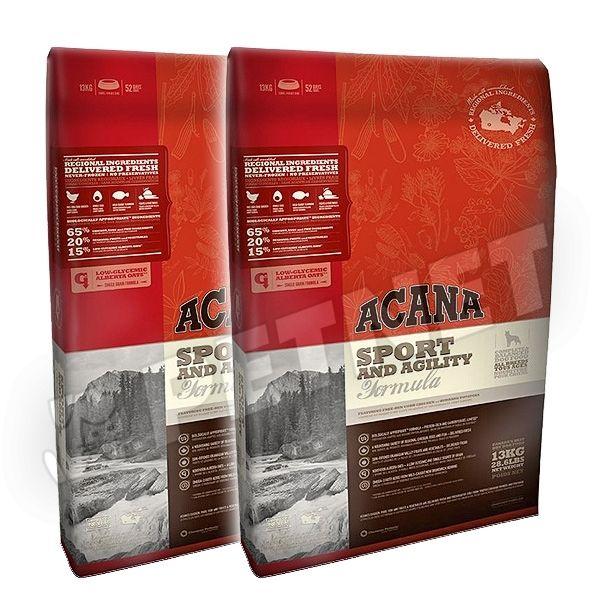 Acana Sport & Agility 2x17kg