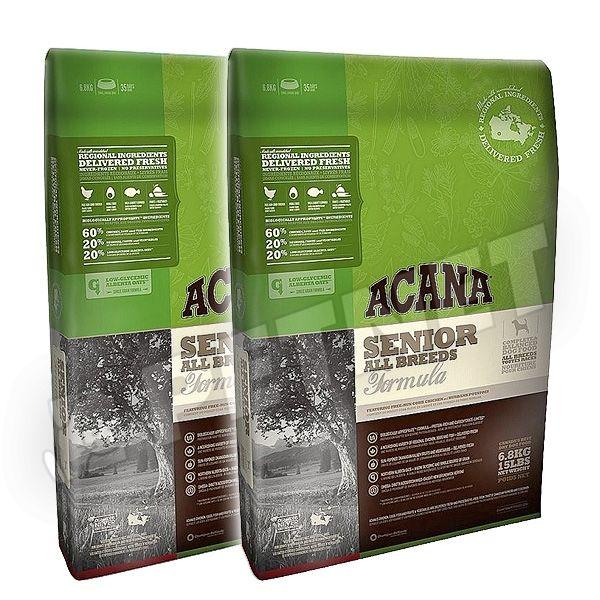 Acana Senior Dog 2x11,4kg