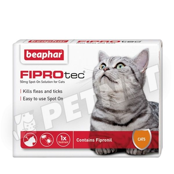 Beaphar FiproTec Spot On Cat 3x0,5ml