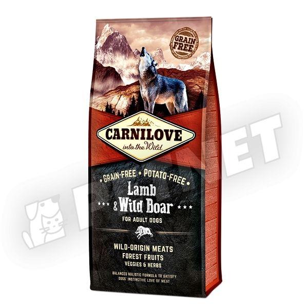 CarniLove Adult Bárány & Vaddisznó 12kg
