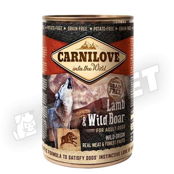 CarniLove Lamb & Wild Boar 400g
