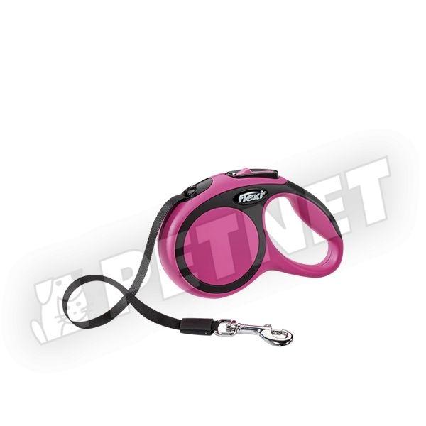 Flexi New Comfort XS szalagos Pink 12kg/3m