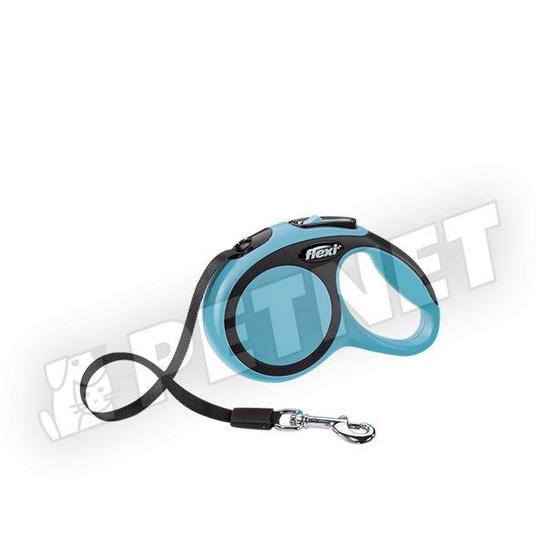 Flexi New Comfort S szalagos Kék 15kg/5m