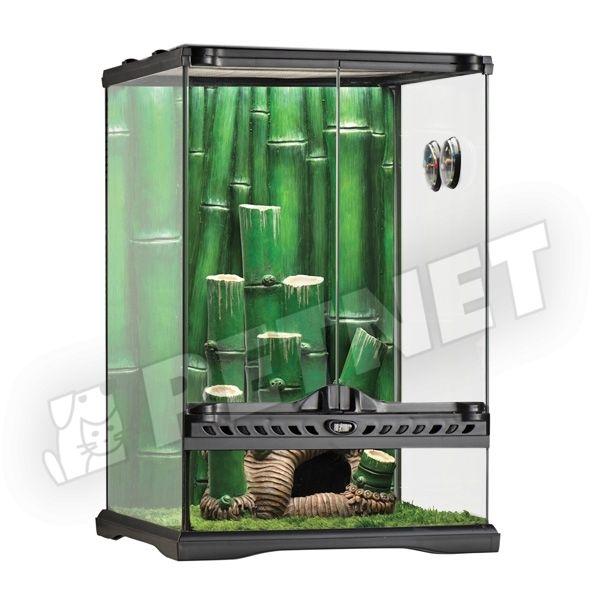 ExoTerra Glass Terrarium Bamboo Forest 30x30x45cm