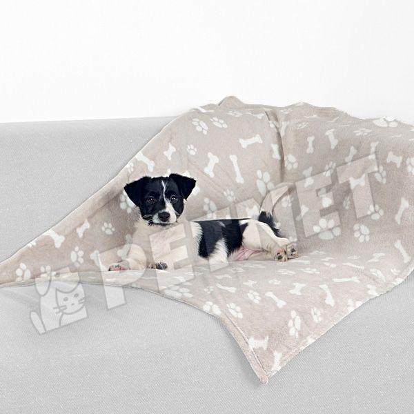 Trixie Kenny pléd kutyáknak Beige 100x75cm