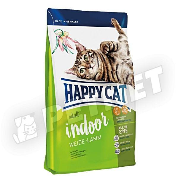 Happy Cat Indoor Adult Lamb Bárány 4kg