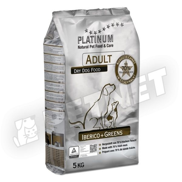 Platinum Adult Iberico Greens 5kg