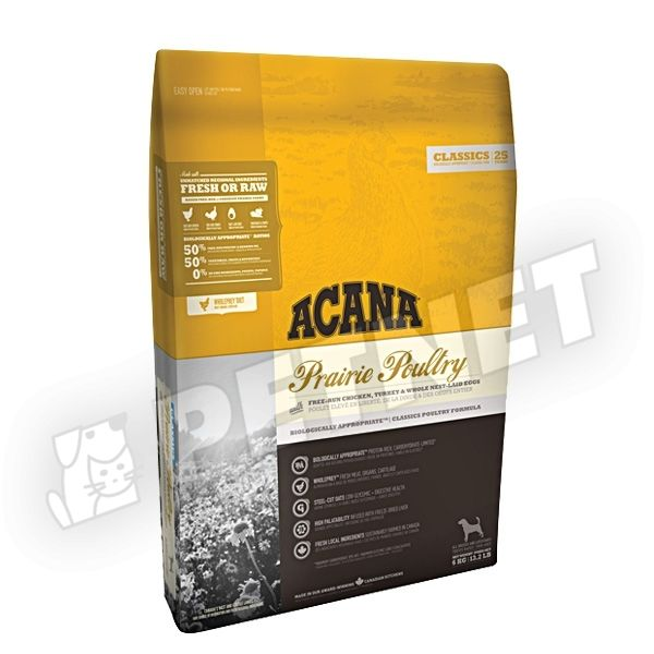 Acana Adult Dog Prairie Poultry 17kg