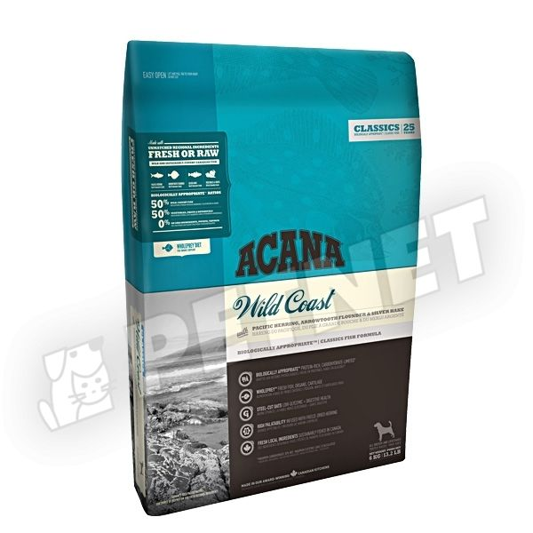 Acana Adult Dog Wild Coast 6kg