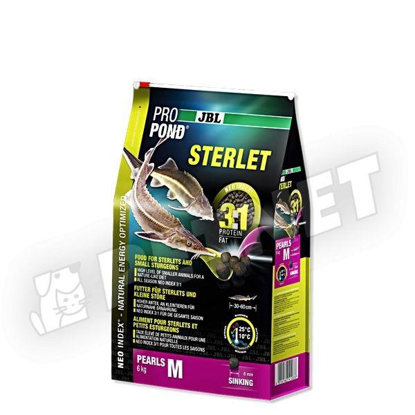 JBL ProPond Sterlet 3:1 Pearls S Kecsegetáp 6L
