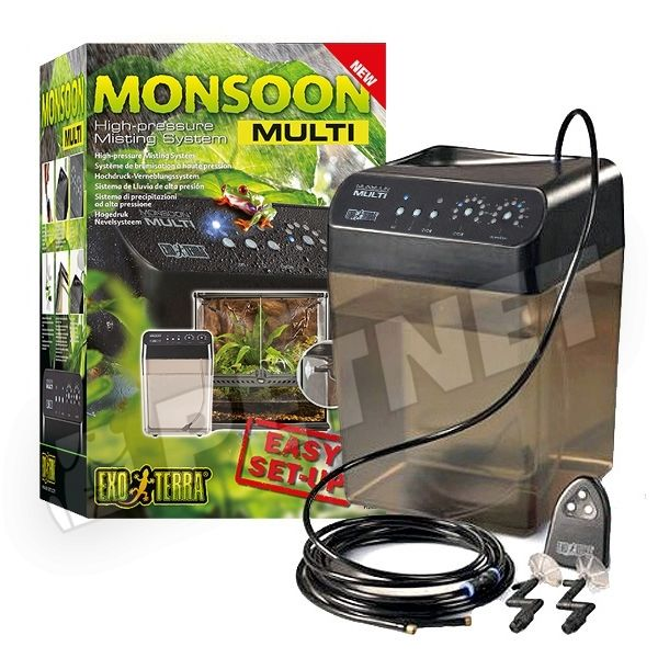 ExoTerra Monsoon MULTI programoztahó esőztető 22x22x33cm