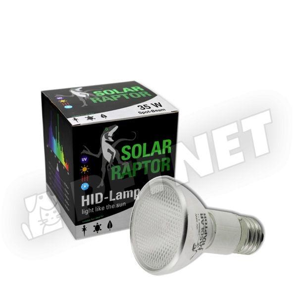 Solar Raptor HID-Lamp Spot-Beam fémhalogén izzó 35W