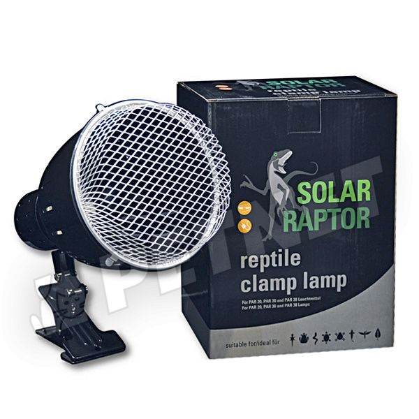 Solar Raptor Reptile Clamp Lamp Large PAR 38