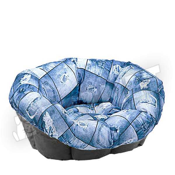 Ferplast Sofa Cushion 6 Jeans 73x55x27cm
