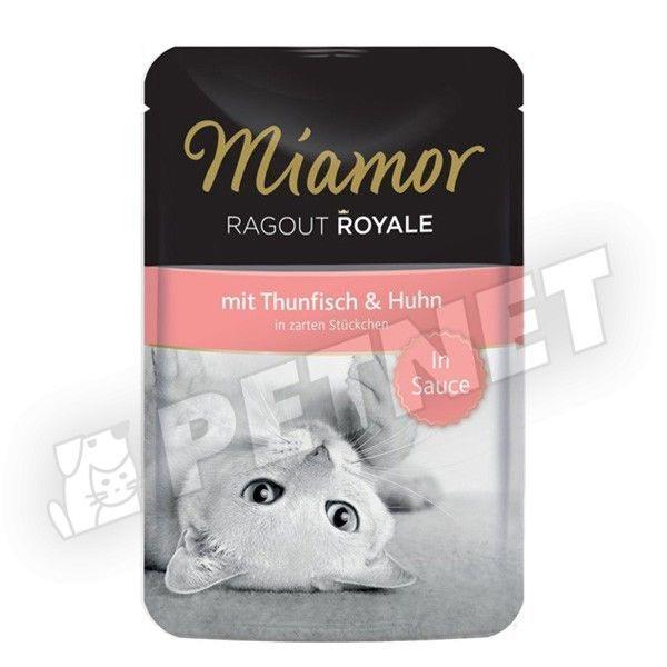 Miamor Ragout Royale in Sauce Tonhal Csirkével 100g