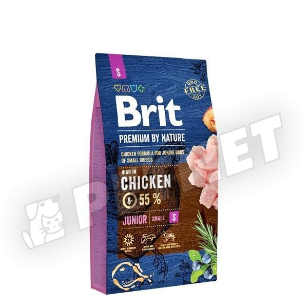 Brit Premium by Nature  Junior Small Breed 8kg