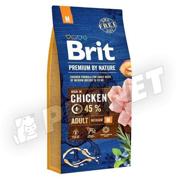 Brit Premium by Nature Adult Medium Breed 3kg