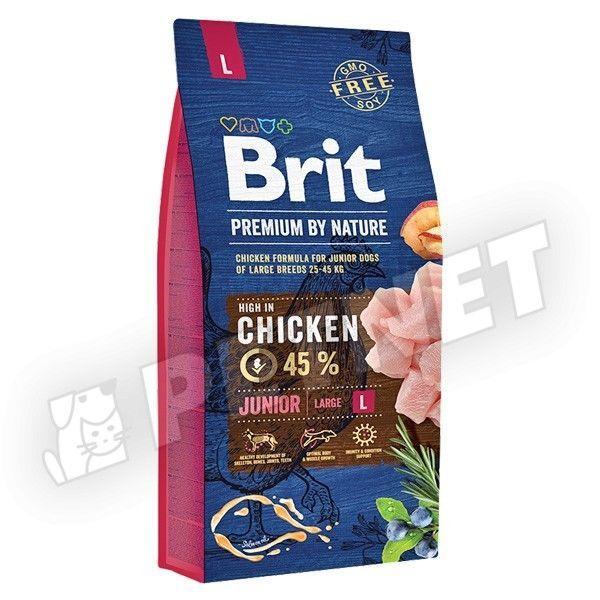 Brit Premium by Nature  Junior Large Breed 15kg