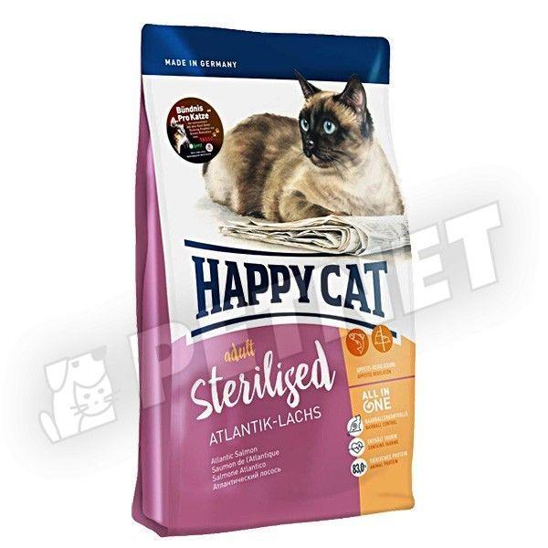 Happy Cat Fit & Well Adult Sterilised Lazac 1,4kg