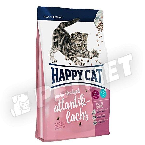Happy Cat Fit & Well Junior Sterilised Lazac 300g