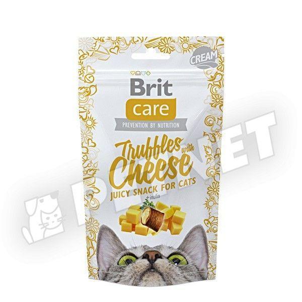 Brit Care Cat Snack Juicy Truffles Cheese 50g