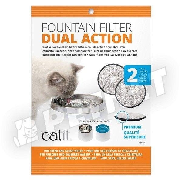Hagen CatIt Dual Action itatókút aktívszenes szűrőbetét 2db