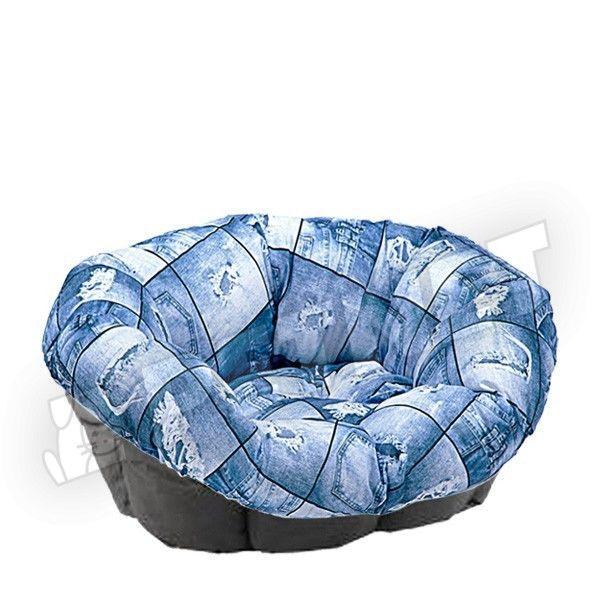 Ferplast Sofa Cushion 4 Jeans 64x48x25cm