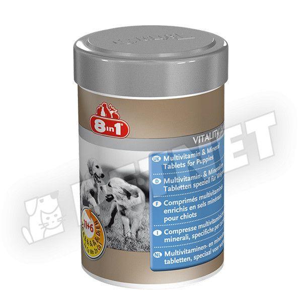 8in1 Multivitamin és Ásványi anyagok kölyökkutyáknak 100db