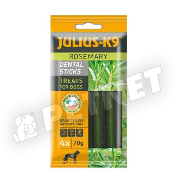 Julius K9 Rosemary Dental Stix húsmentes rozmaringgal 70g